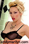 Emily Marilyn fetish model