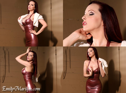 Fetish Glam Anatomic Bomb Latex Emily Marilyn