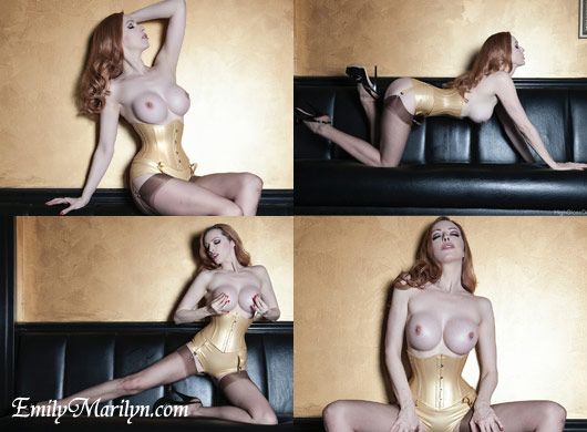 gold emily marilyn katja ehrhardt high gloss dolls