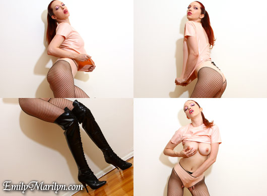 The Hallway erotic photos and video of Emily Marilyn