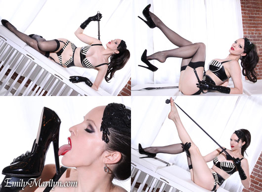 Emily Marilyn untimate fetish goddess