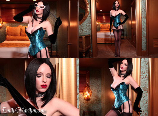 Emily Marilyn corseted beauty