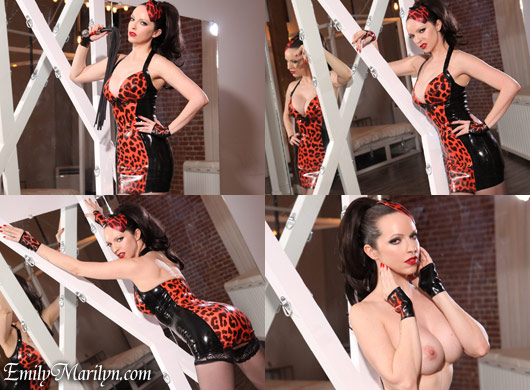 Emily Marilyn rubber mistress