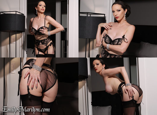 Emily Marilyn sensual seductress
