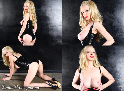 Emily Marilyn lustful latex