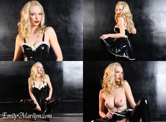 Emily Marilyn rubber maid