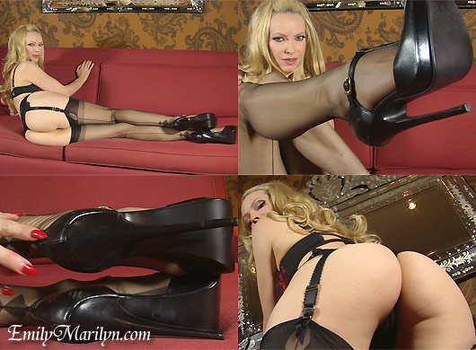 Emily Marilyn erotic video