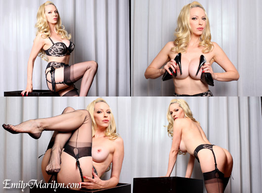 Emily Marilyn nostalgic beauty