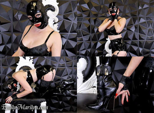 Emily Marilyn rubber doll