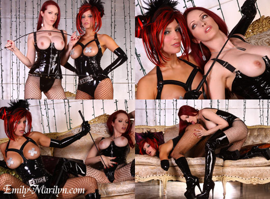 Emily Marilyn with RubberDoll