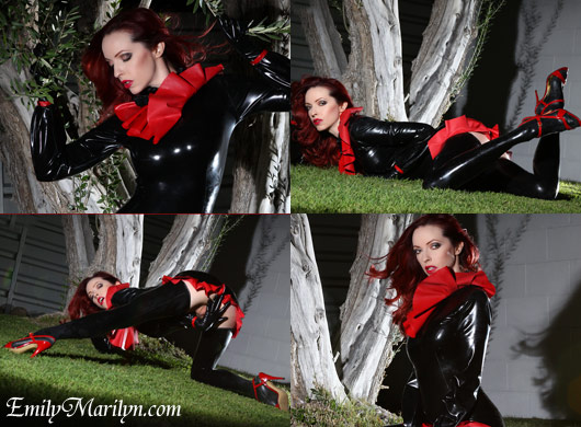 Ruffled in Rubber